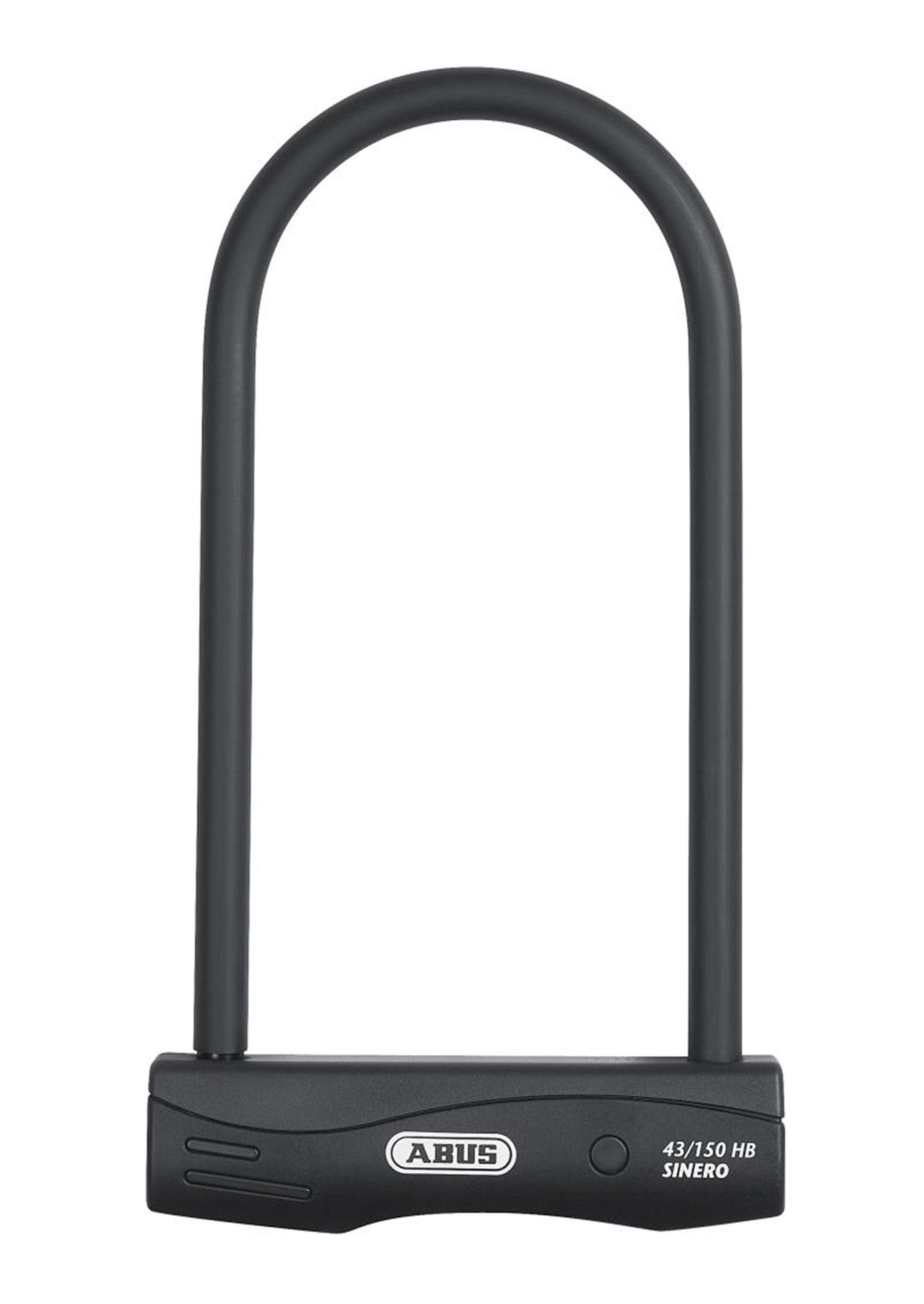 ABUS Bügelschloss »Sinero 43/150HB230/HB300 + USH« (Set, mit Halterung)