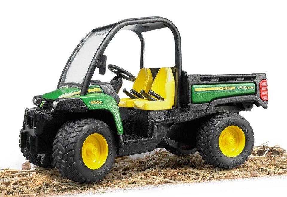 bruder® Mini-Fahrzeug, »John Deere Gator XUV 855D« in grün