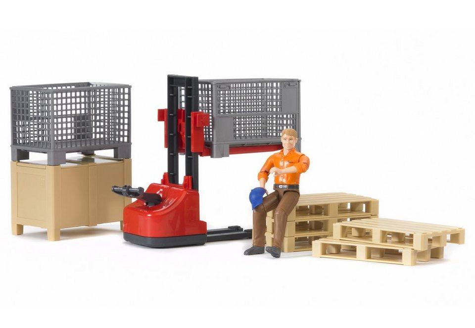 bruder® Zubehör-Set, »Logistik«