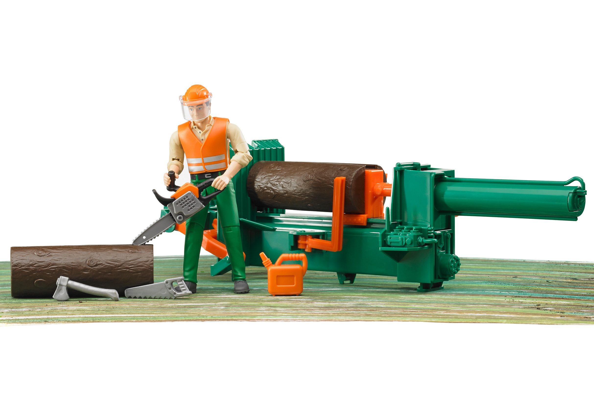 bruder® Zubehör Forstwirtschafts-Set