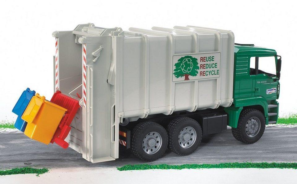 bruder® Müll-LKW, »MAN TGA Hecklader«