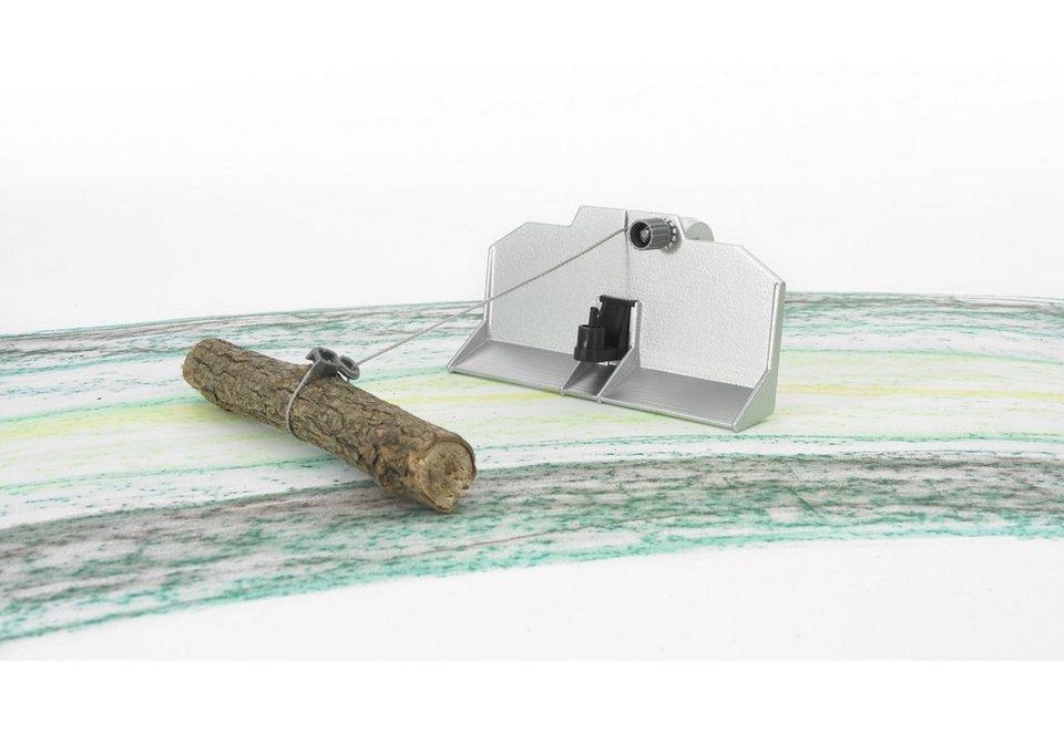 bruder® Rückeschild mit Seilwinde