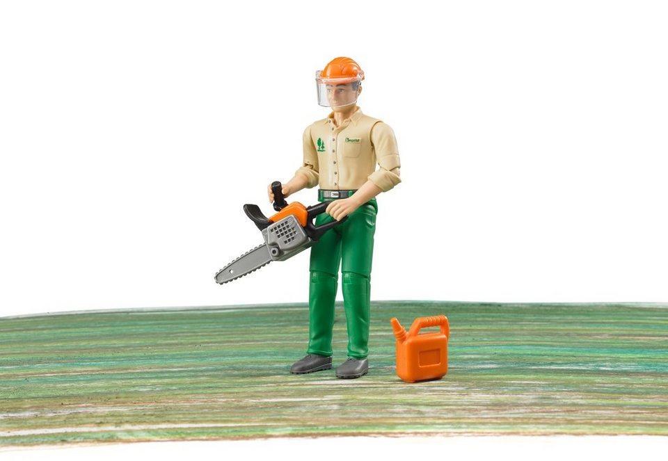 bruder® Zubehör, Forstarbeiter mit Zubehör