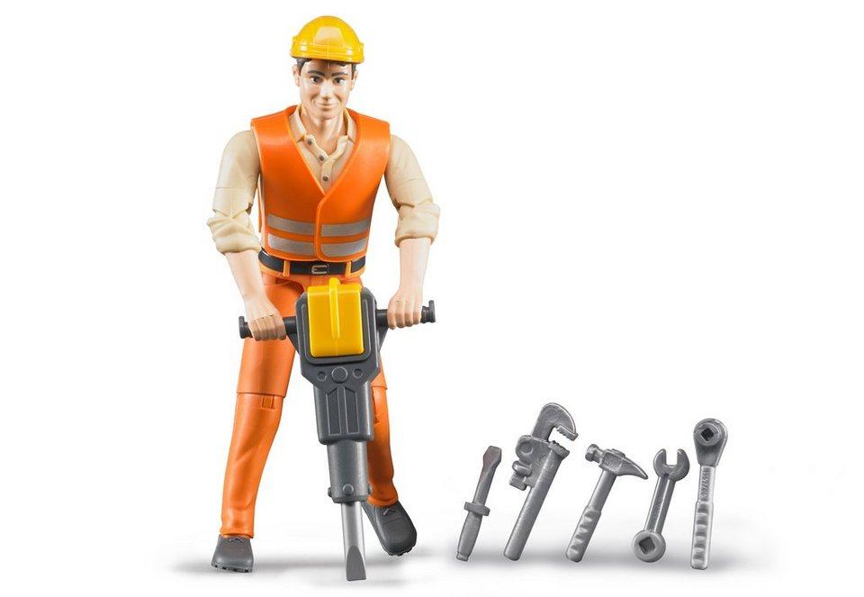 bruder® Zubehör, Bauarbeiter mit Zubehör