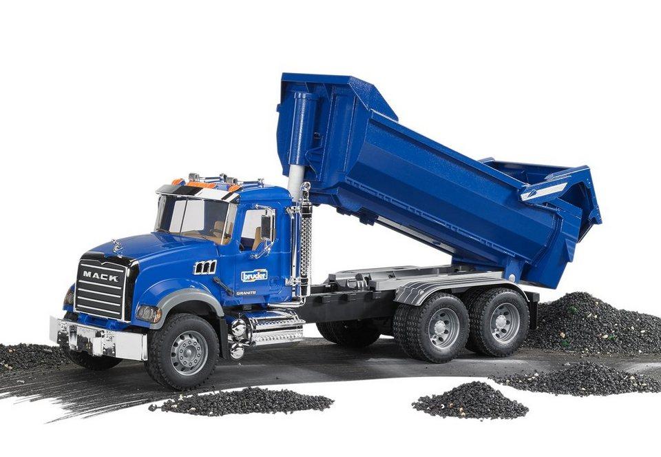 bruder® Kipp-LKW, »Mack Granite Halfpipe« in blau