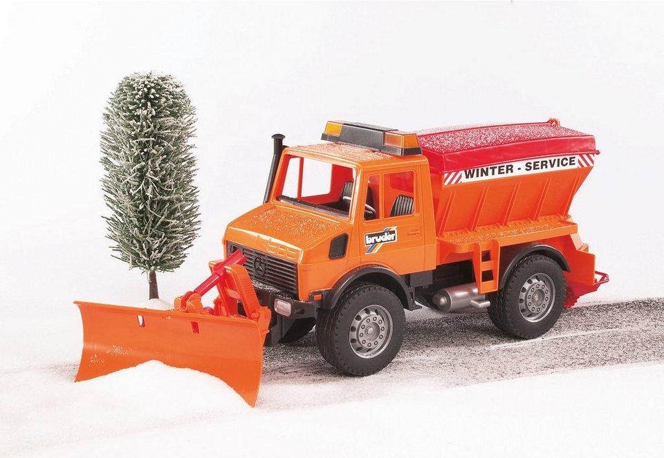 bruder® Winterdienst mit Räumschild, »MB-Unimog«
