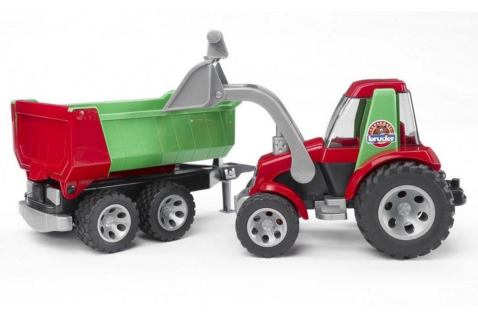 bruder® Traktor mit Frontlader und Kippanhänger, »ROADMAX«