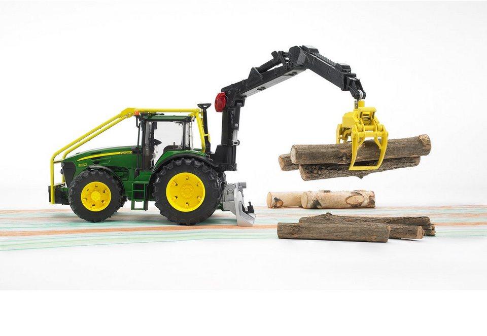 bruder® Forst-Traktor, »John Deere 7930« in grün