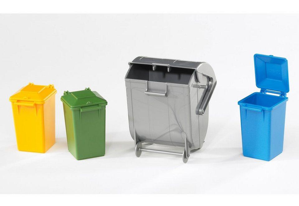 bruder® Mülltonnen-Set