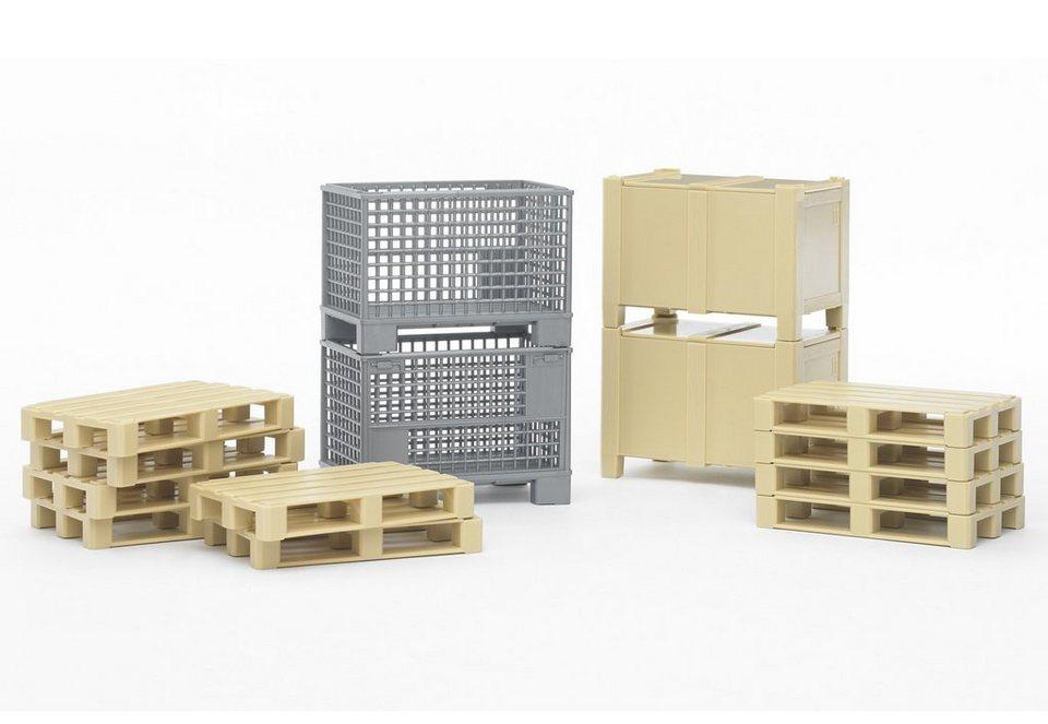 bruder® Logistik-Set, (14-tlg.)