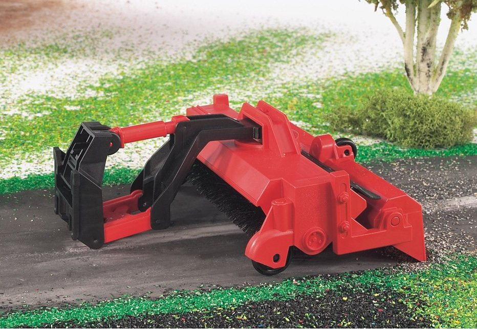 bruder® Kehrmaschine in rot