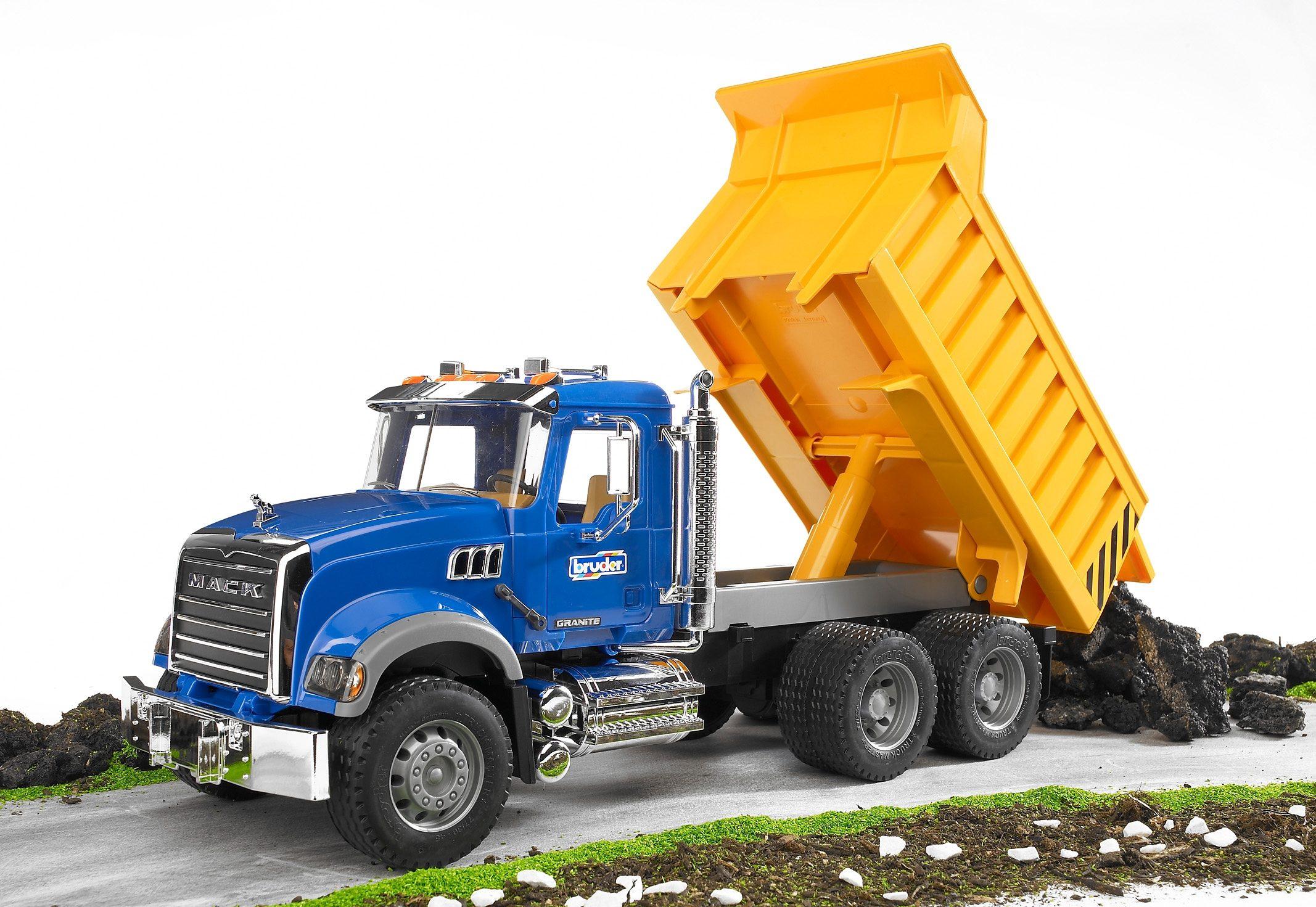 bruder® LKW mit Kippmulde, »Mack Granite«