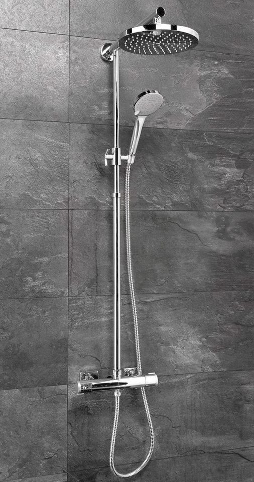 Set: Überkopfbrause »Madura«, 22,5 cm in chromfarben