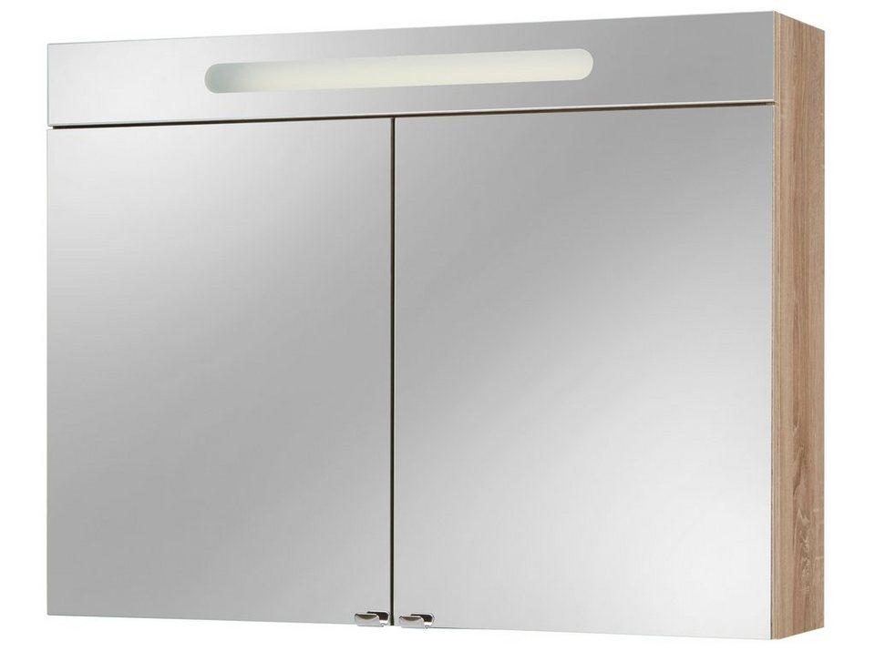 Spiegelschrank »Lucca« 90 in nussbaumfarben