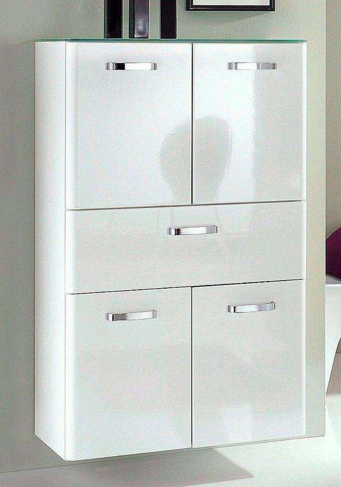 Held Möbel Midischrank »Mailand« 70cm in weiß