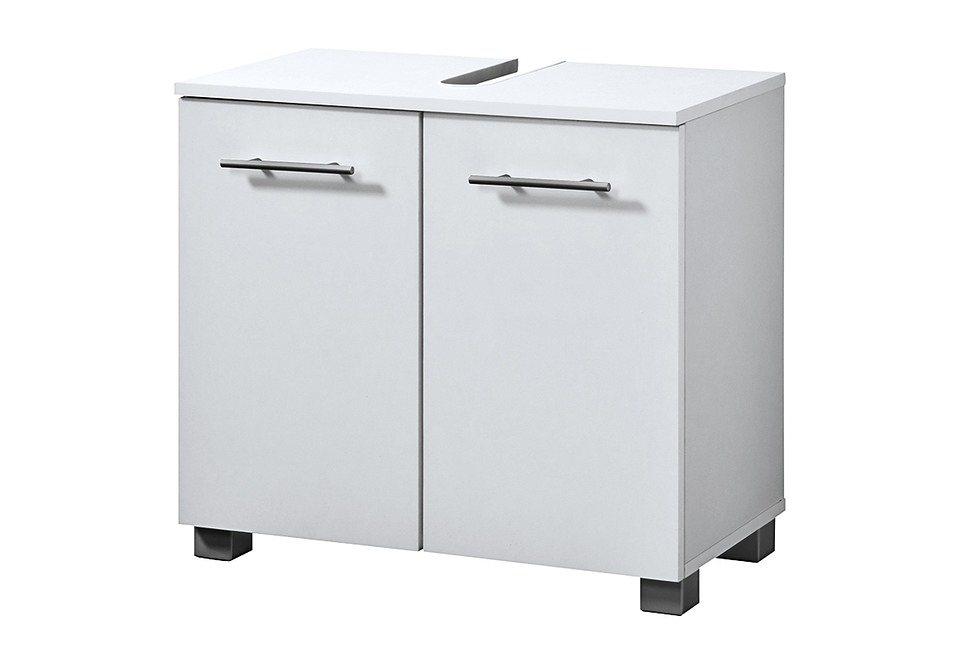 Waschbeckenunterschrank »Palma«, Breite 60 cm in weiß/weiß