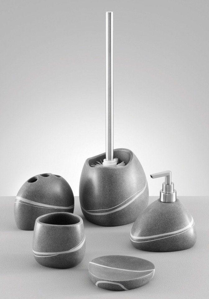 Zeller Zahnputzbecher »Stein-Optik«