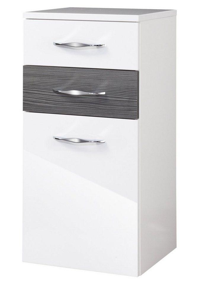 Midischrank »Sceno«, Breite 40 cm in piniefarben anthrazit/weiß