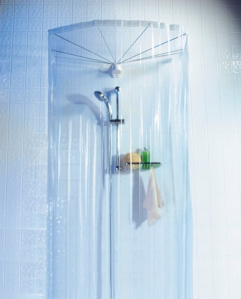 Dusch-Schirm »Spider« in kristallfarben