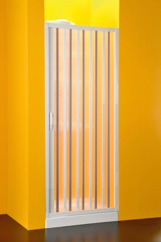 Nischentür »mit Falttürsystem«, Duschtür mit Verstellbereich von 138-142 cm