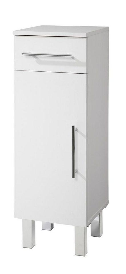 Kesper Unterschrank »Novara«, Breite 30 cm in weiß