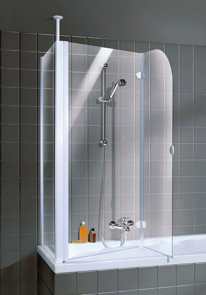 Badewannenaufsatz »2-teilig« in alufarben