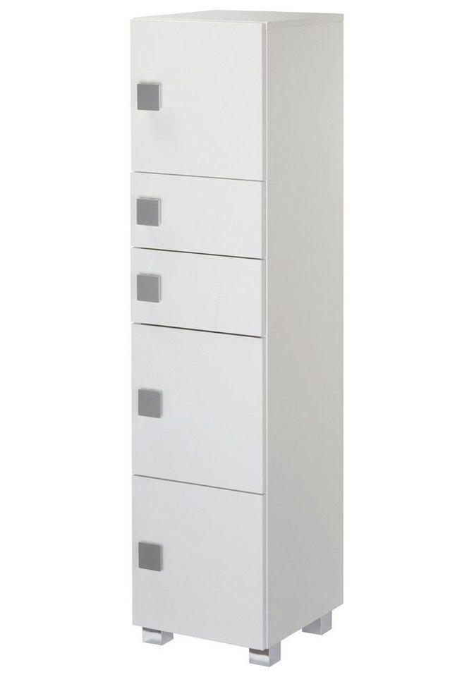 Schildmeyer Hochschrank »Quadra« 33 cm in weiß
