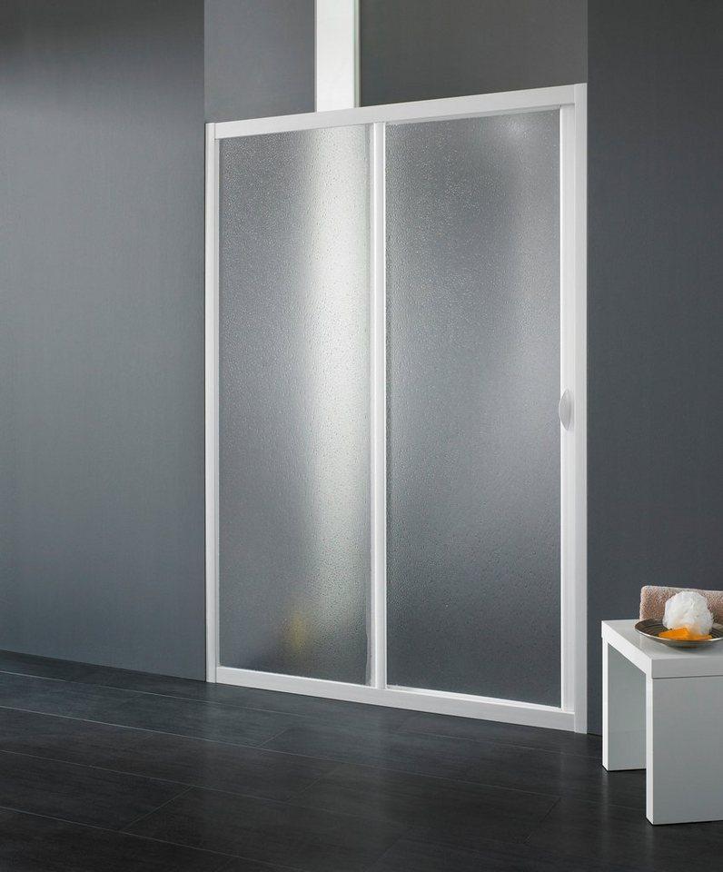 Schiebetür »Maestro Due«, 90-100 cm in weiß