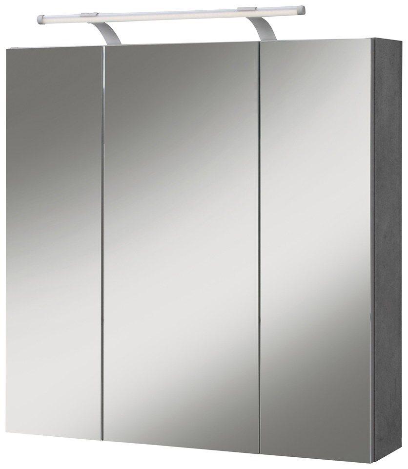 SCHILDMEYER Spiegelschrank »Quadra«, Breite 70 cm | OTTO