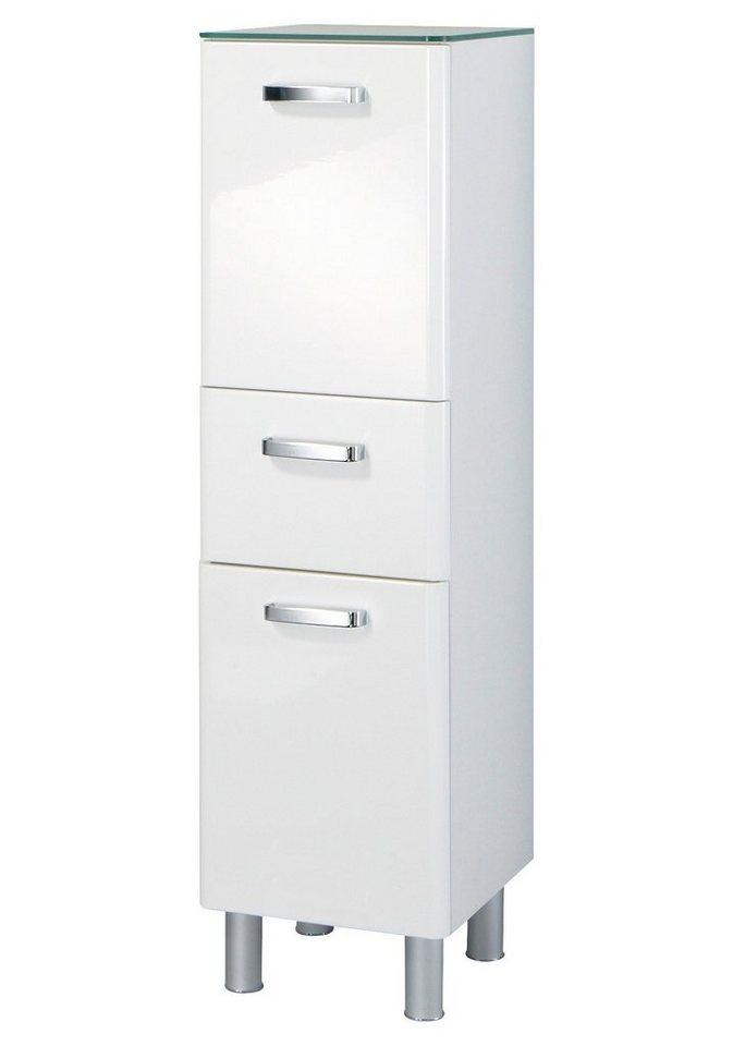 Held Möbel Midischrank »Mailand« 35cm in weiß