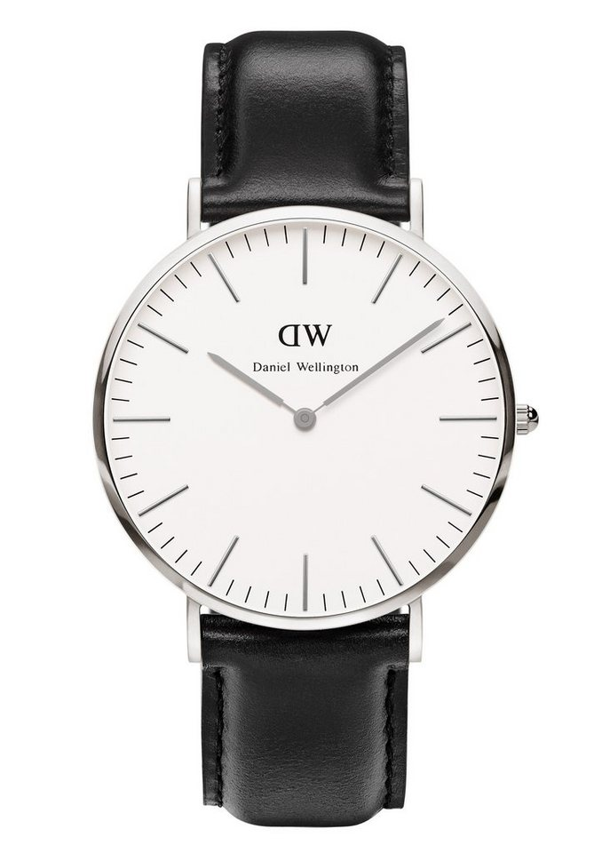 Daniel Wellington Quarzuhr »Classic Sheffield, 0206DW« in schwarz