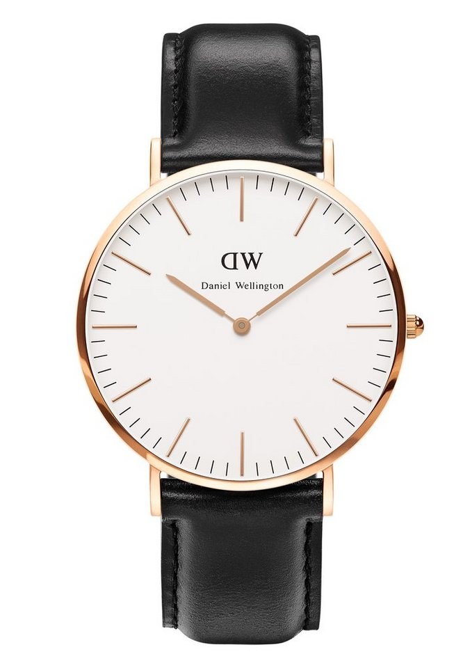 Daniel Wellington Quarzuhr »Classic Sheffield, 0107DW« in schwarz