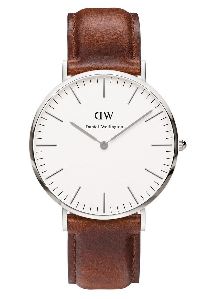 Daniel Wellington Quarzuhr »Classic St. Mawes, 0207DW« in cognac