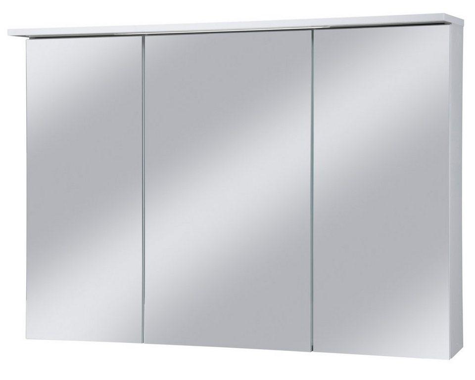 Spiegelschrank »Profil« Breite 100 cm, mit LED-Beleuchtung in weiß