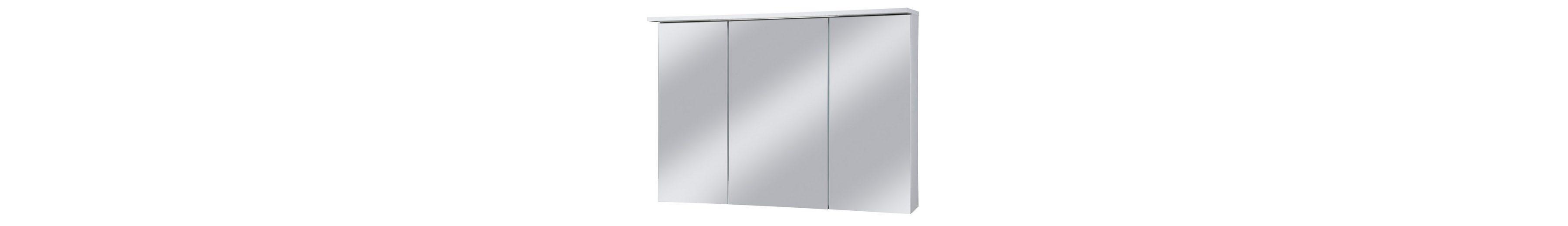 Spiegelschrank »Profil« Breite 100 cm, mit LED-Beleuchtung