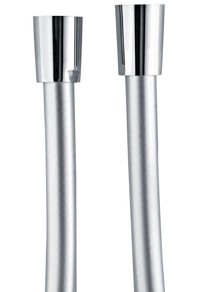 Schulte Duschbrausenschlauch »Silber«, 125 cm in silberfarben