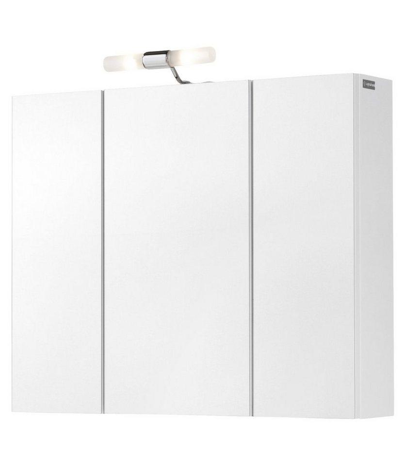 Spiegelschrank »Posen«, Breite 72 cm in weiß