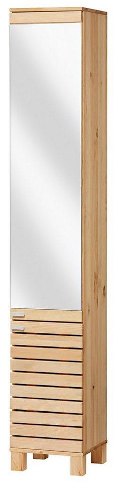 Spiegelschrank »Amrum« 30 cm in gelaugt/geölt