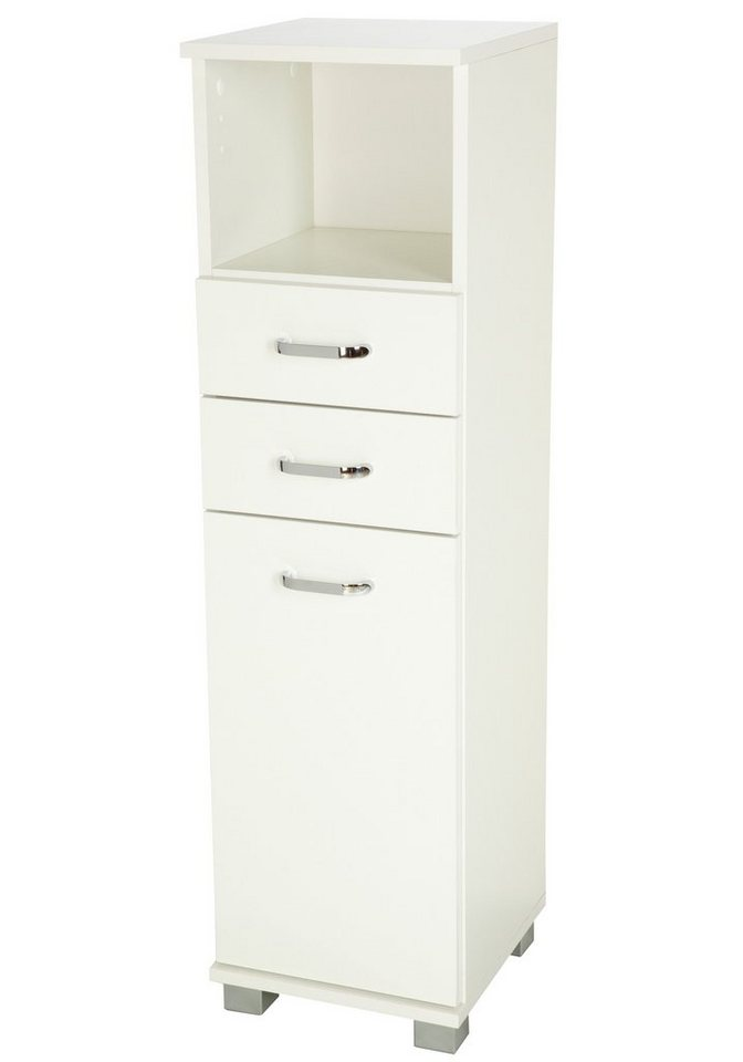 Schildmeyer Highboard »Bologna« 30 cm in weiß
