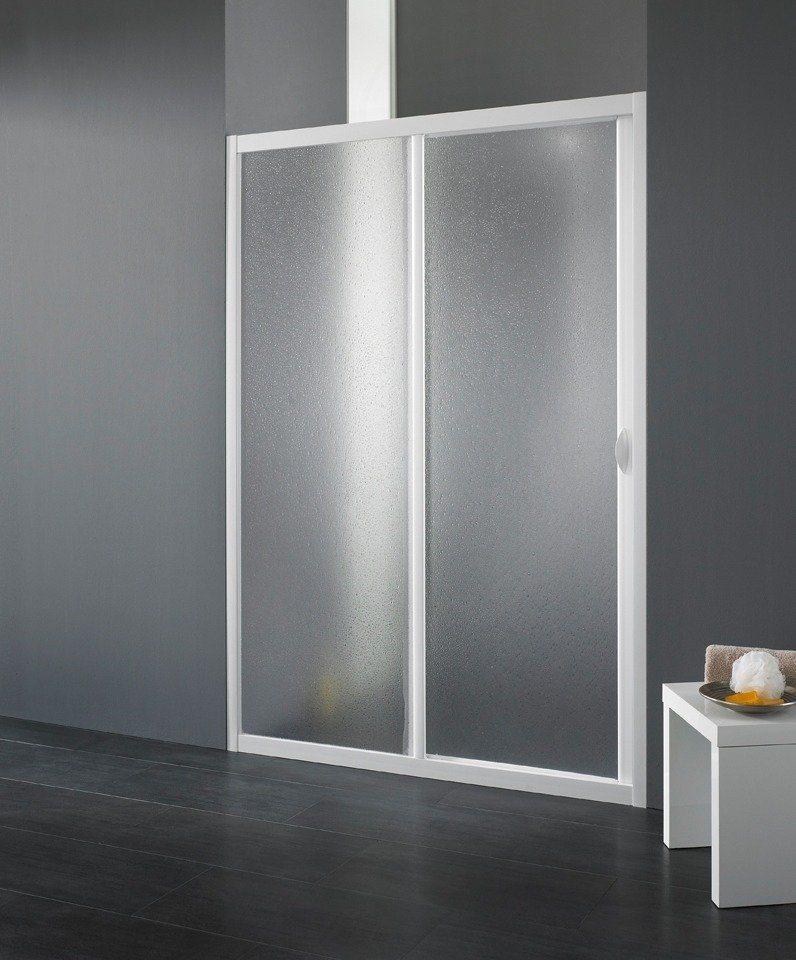 Schiebetür »Maestro Due«, 80-90 cm in weiß
