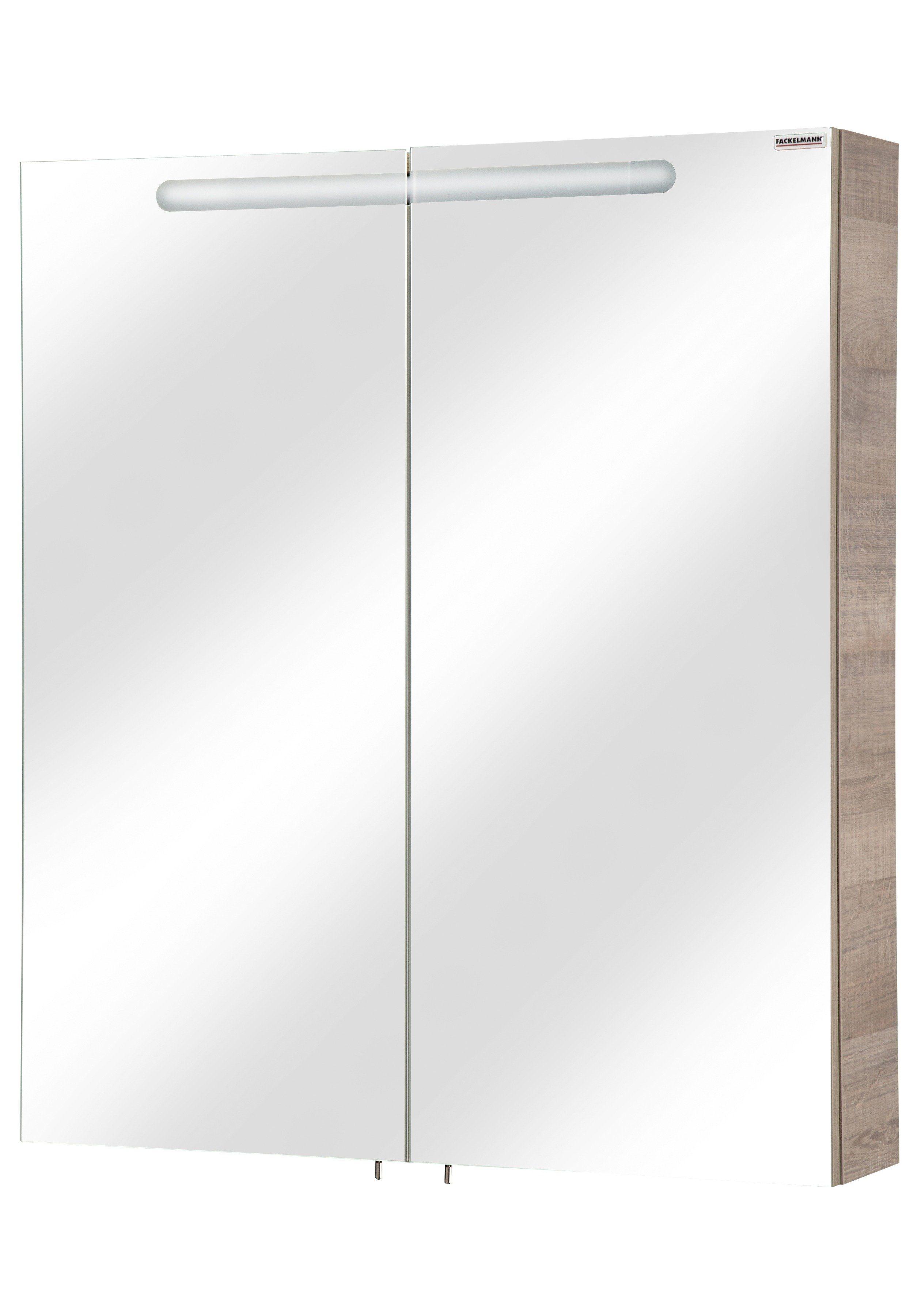 Fackelmann Spiegelschrank »A-Vero« Breite 70 cm, mit Beleuchtung