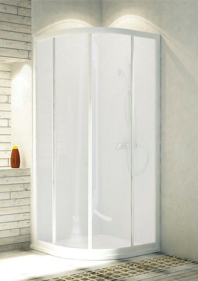 Runddusche »Aqua«, 90cm x 90cm in weiß