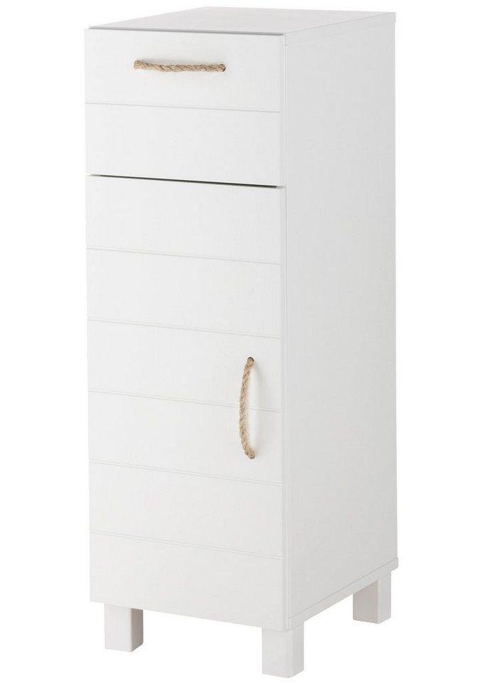 Unterschrank »Mare«, Breite 30 cm in weiß/weiß