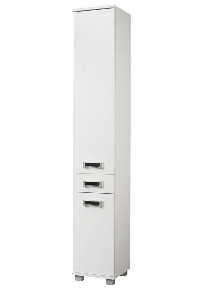 Hochschrank »Cadiz«, Breite 30 cm in weiß/weiß