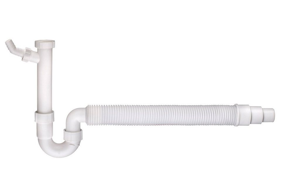 Set: Sanitärarmaturenzubehör in weiß