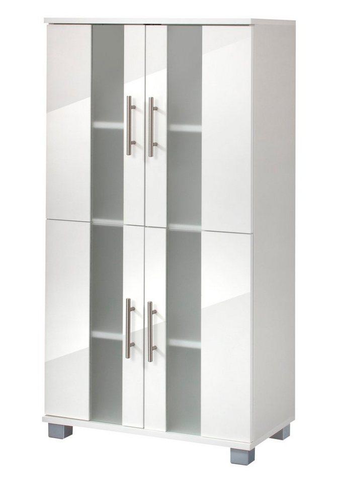 Midischrank »Julia«, Breite 60 cm in weiß/weiß
