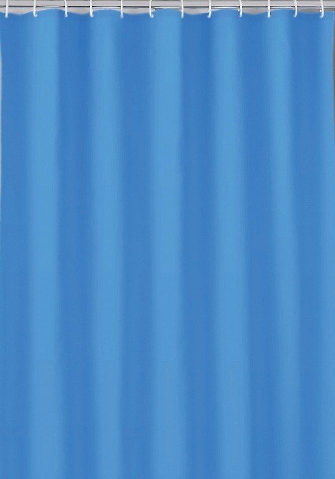 Duschvorhang »Uni« in blau