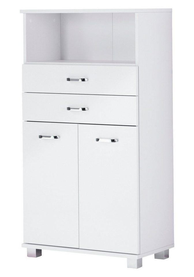 Schildmeyer Midischrank »Bologna«, Breite 60 cm in weiß
