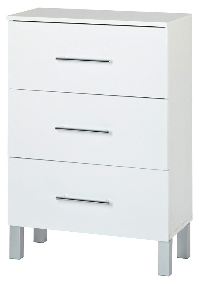 Unterschrank »Malmö«, Breite 60 cm in weiß/weiß