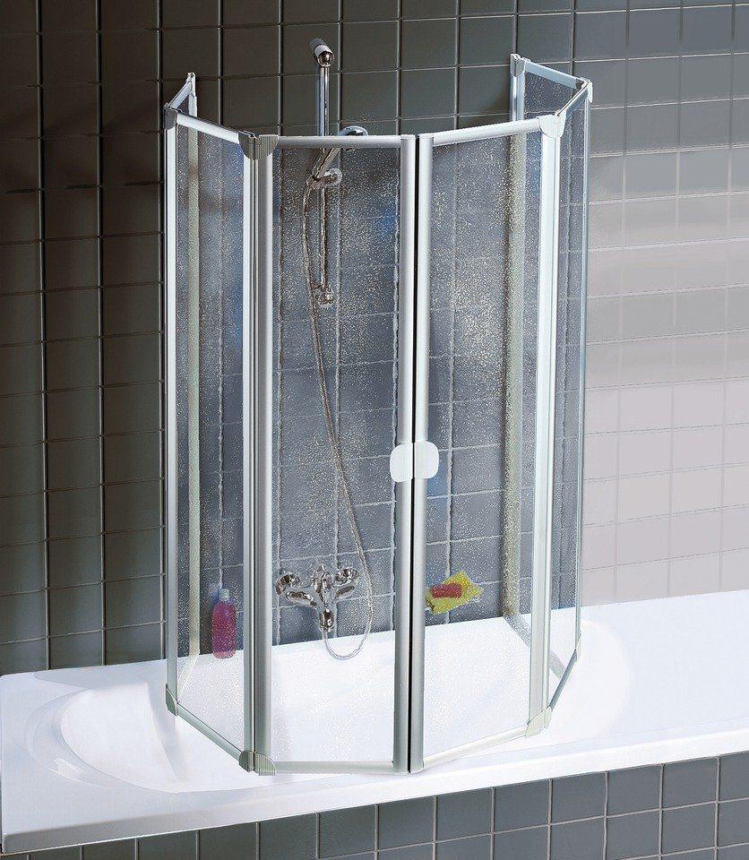 Badewannenaufsatz »6-tlg.« in alufarben
